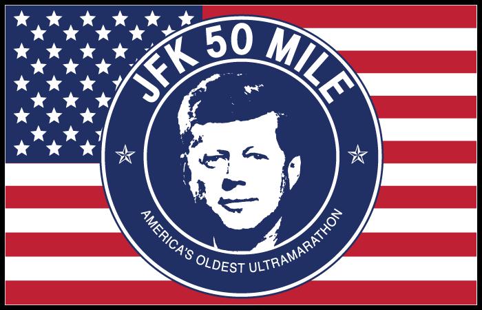 JFK 50 Mile Retina Logo